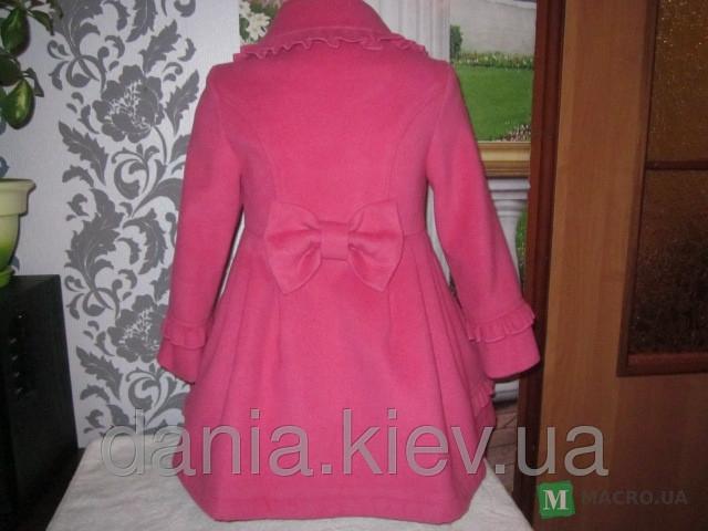 Пальто для девочки из драпа сшить 193