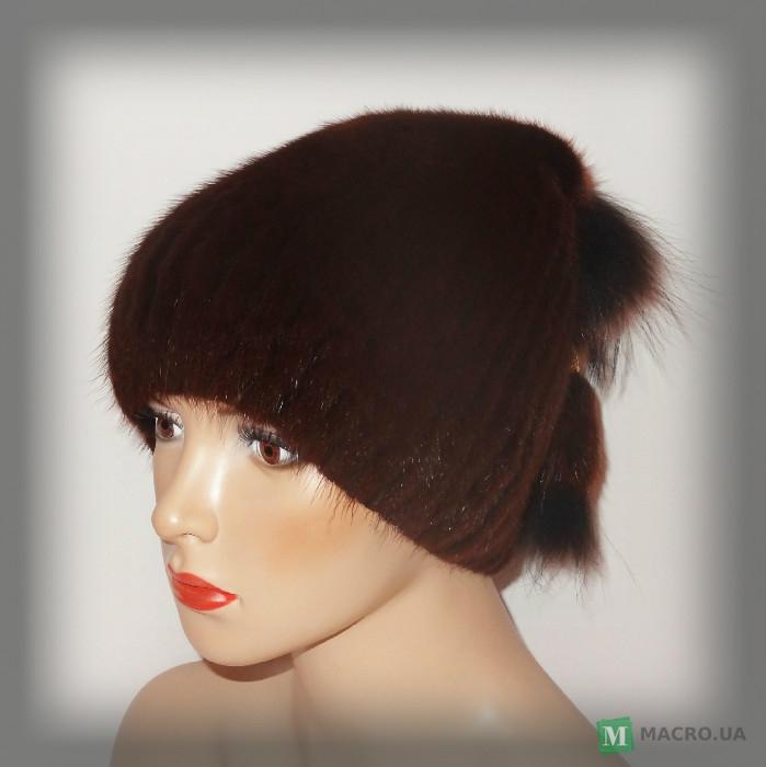 Купить Меховая шапка из ондатры женская (рыжая) Краматорск цена 3a56f023f680a
