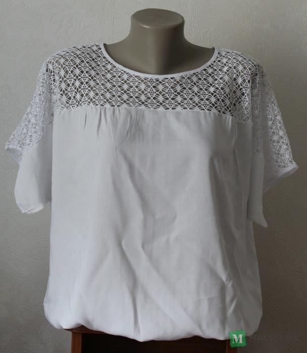 Купить Блузка женская летняя белая Хмельницкий цена 021ee3c55c840
