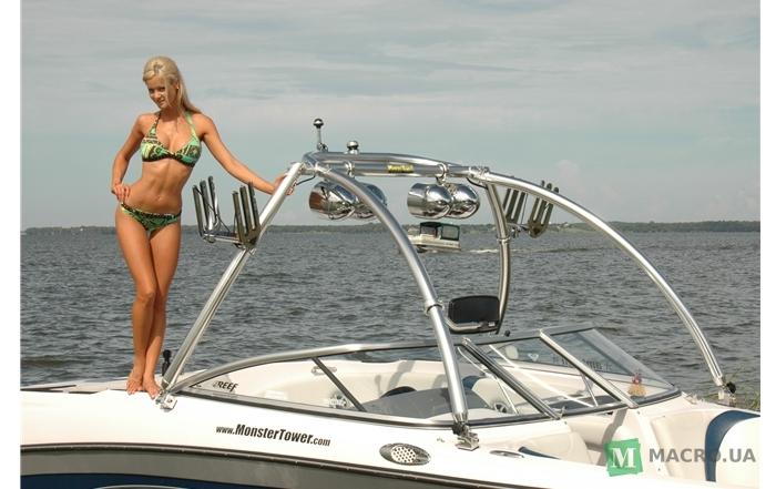лодка для лыжника